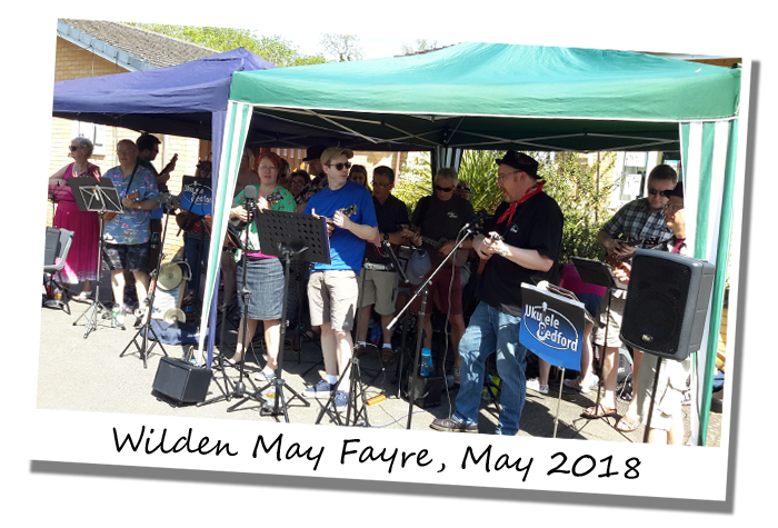 UkuleleBedford at Wilden